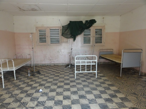 An existing patient accommodation room